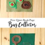 Bug Collector Quiet Book Page