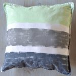 Hand-Painted Throw Pillows