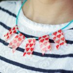 Washi Tape Necklace