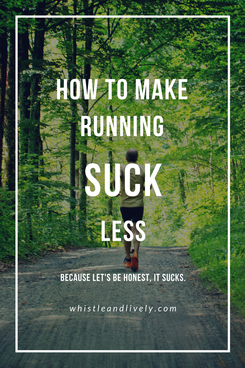 Ever wondered why people run, when it's the worst thing ever? Because running is a great (and free!) way to stay in shape and feel good. But it's the worst. So learn how to make running easier with these simple tips.